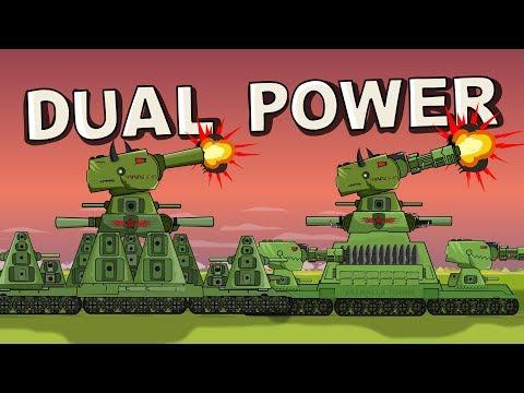 """Dual Power"" Cartoons About Tanks"