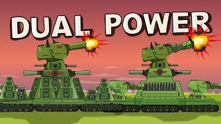 'Dual Power' Cartoons about tanks