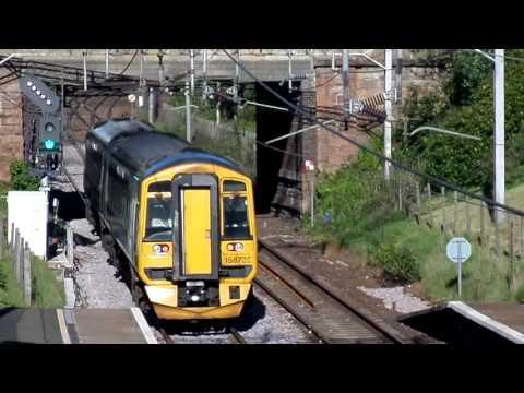 Uddingston railway station, South Lanarkshire, Scotland