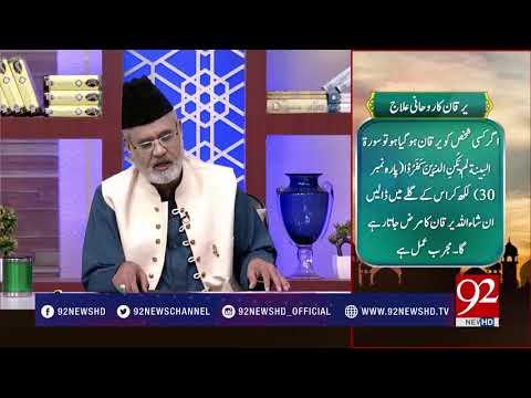 Quote - Hazrat Ali (RA) - 27 July 2018 - Agar Kisi Shakhas Ko Yarqaan