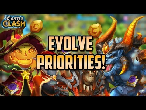 Castle Clash Evolve Priorities : Who To Evolve First