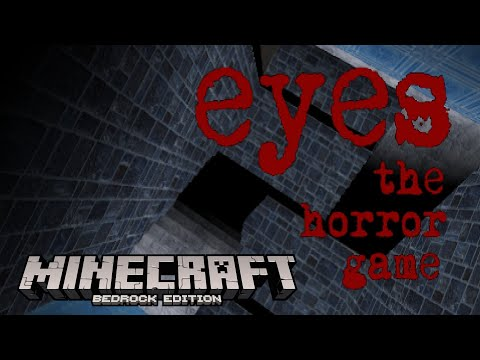 EYES THE HORROR GAME In Minecraft: Pocket Edition!