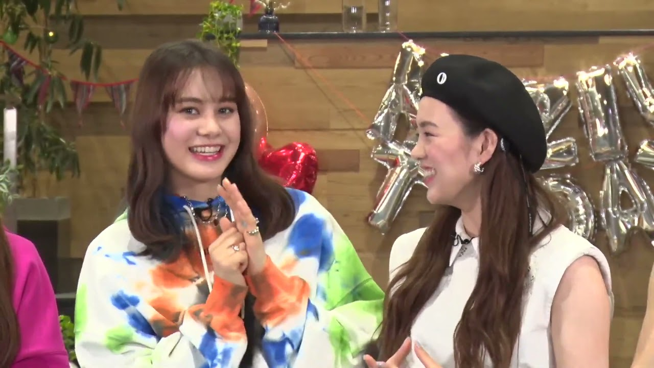 Nina speaking English in todays live WithU show