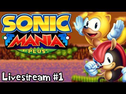 Sonic Mania Plus | Full Encore Mode Playthrough & More (Livestream #1)