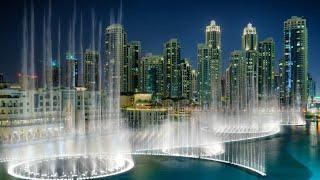 Habibi Water Fountain Show Borg Khalifa UAE Dubai