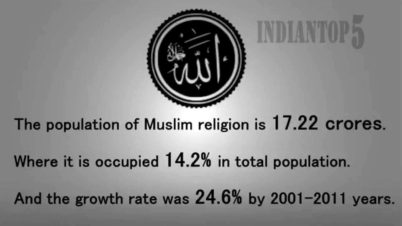 Top Religions In India And Its Growth Rate Aug YouTube - Top religions 2016