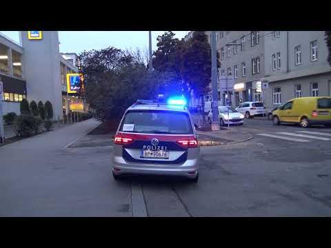 Neues Horn & Blaulicht/Fustw &  HGrkW Polizei Wien