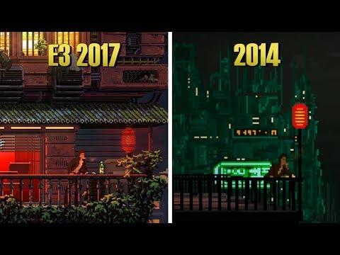 The Last Night - 2014 Flash Game VS E3 2017 Trailer Comparison