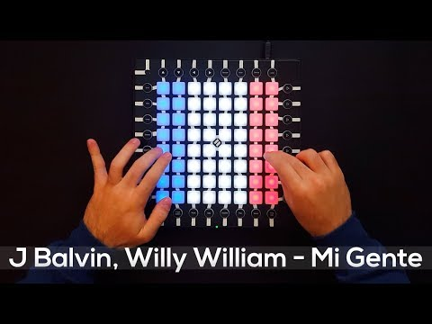 J Balvin, Willy William - Mi Gente - Launchpad Pro Cover (Remix)