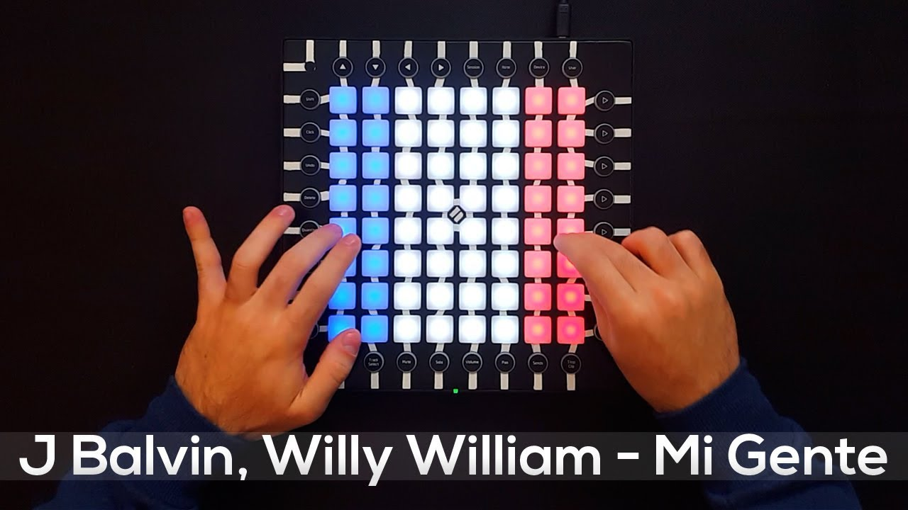 J Balvin Willy William Mi Gente Launchpad Pro Cover Remix