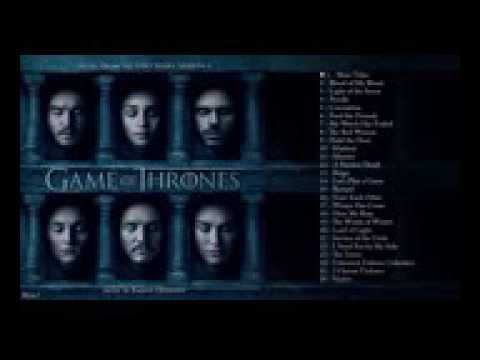 All music's of game of thrones