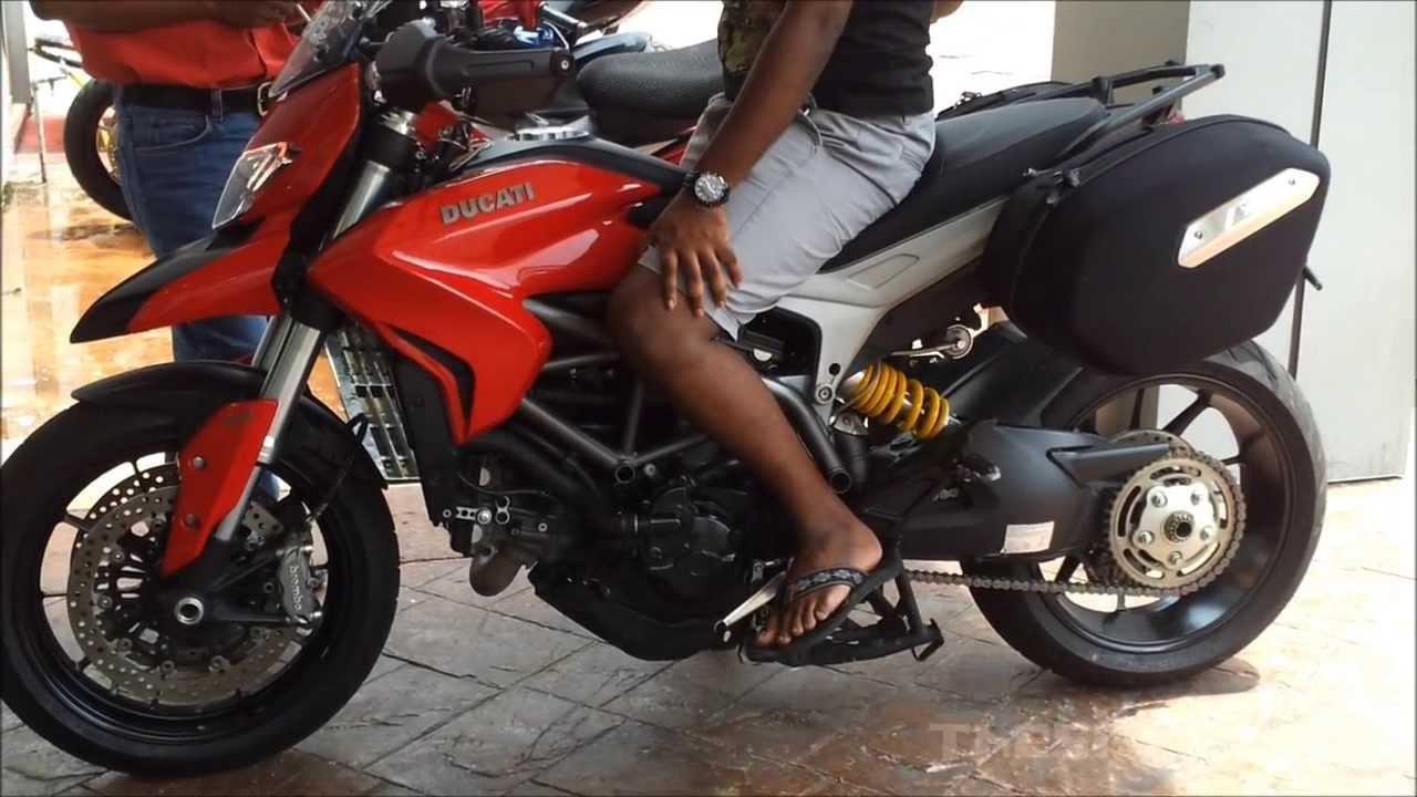 ducati hyperstrada test ride - youtube