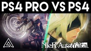 Nier Automata | PS4 Pro vs PS4 Gameplay Comparison