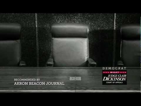 Judge Clair Dickinson - Democrat + Endorsement - 30 sec
