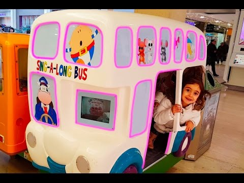 Thumbnail: Emily Ride On Bus- The Wheels On The Bus / Miss Polly Had a Dolly Song
