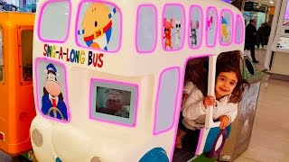 Emily Ride On Bus- The Wheels On The Bus / Miss Polly Had a Dolly Song