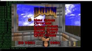 10 Doom Wad Editing Sky Texture with Deutex Linux Tutorial Blue Skies on Mars