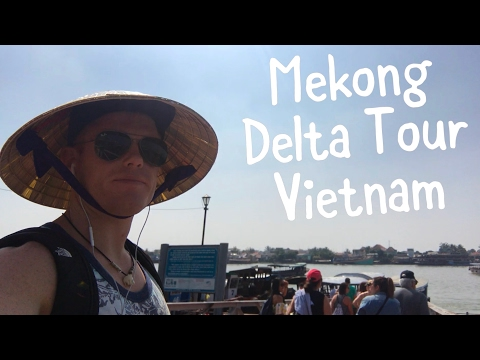 MEKONG DELTA TOUR ..Vlog!!  🛶 Saigon HCMC River Boat Tours // Vietnam Travel 2017