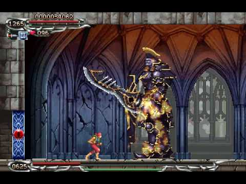 Serio's Castlevania Fighter: Grant nightmare