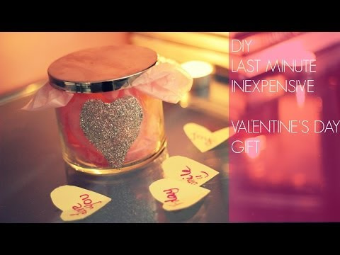 DIY Last Minute & Inexpensive Valentine's Day Gift |Things I Love About You|
