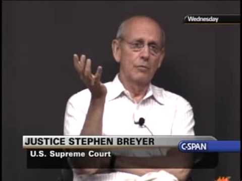 Justice Breyer on Cameras in the Court