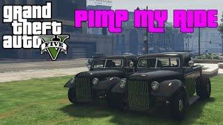 GTA V - Pimp My Ride #121 | Bravado Rat-Truck | Car Customization Competition!