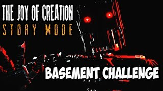 FIRED FOR ODOR AGAIN | THE BASEMENT SPEED RUN CHALLENGE | THE JOY OF CREATION STORY MODE - EXTRAS