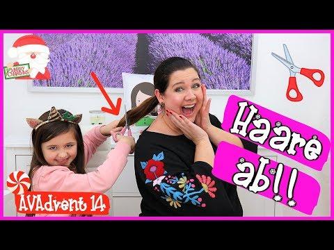 AVA SCHNEIDET MAMAS HAARE AB 😱 ✂️  AVAdvent Tag 14 🎅 Vlogmas 2018 | Alles Ava - REUPLOAD