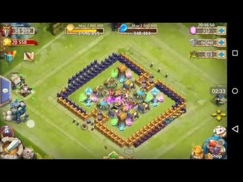 Castle Clash - Torch Battle Fun, Watch Till End!!!