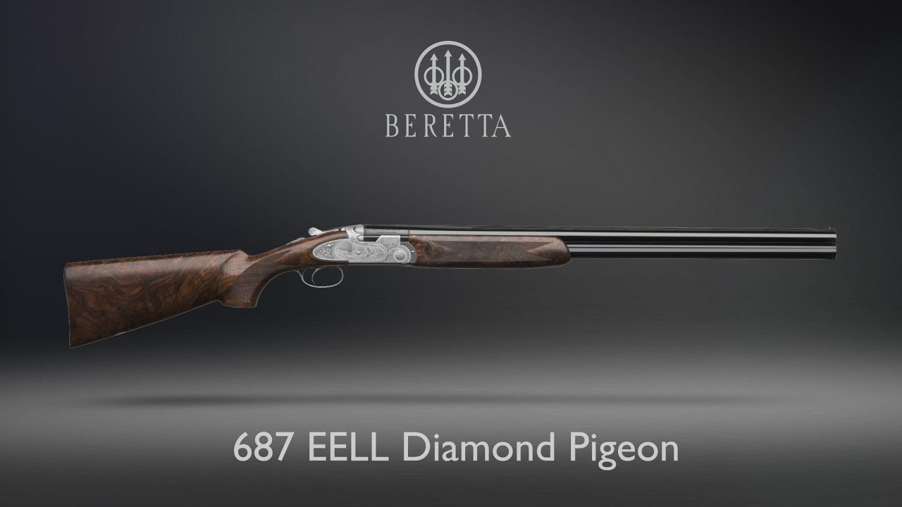 Beretta 687 EELL Diamond Pigeon - Game scenes engraving - Restyle 2017