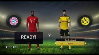 FIFA 16 Squads in FIFA 15 Gameplay