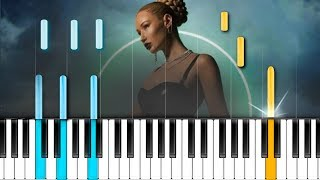 "Iggy Azalea - ""Savior"" Piano Tutorial - Chords - How To Play - Cover"