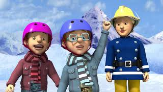 New Fireman Sam ❄️New Years Day Rescue ⛸ ❄️Happy New Year From Fireman Sam 🎉🔥Kids Cartoons