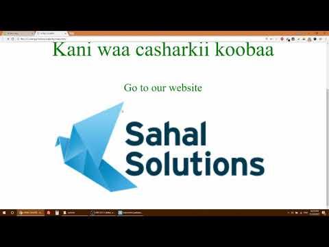 HTML Beginner Lessons - 004 (Somali)
