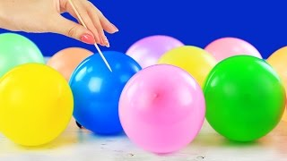 17 лайфхаков и трюков с воздушными шарами