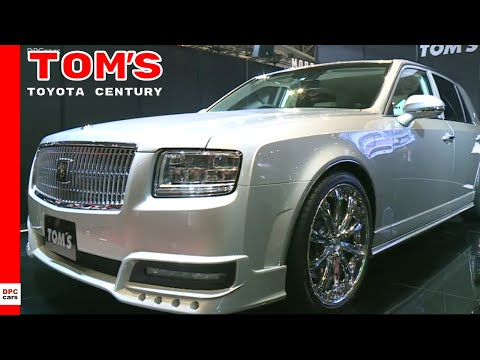 Limited Edition Toyota Century By Tom's