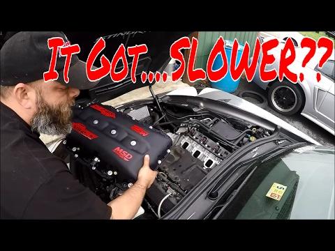 C7 Corvette+MSD Intake=MO POWA!!!!