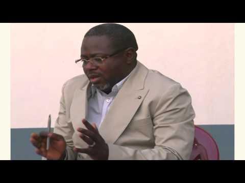 Dhédhé Mupasa (Gécotrans- Dhins Trading) at Startup Grind Lubumbashi