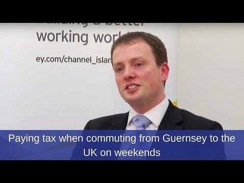 Moving to Guernsey & commuting to the UK on weekends? Find out how much tax you'll have to pay