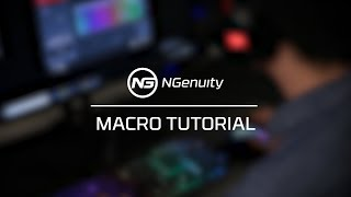 Creating Macros Tutorial - HyperX NGenuity Software