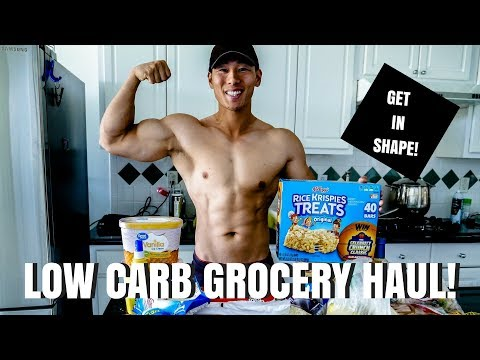 WHAT I BUY TO GET SHREDDED | LOW CARB GROCERY HAUL | TC EPISODE 9