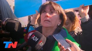 """Susana, la mamá de uno de los chicos muertos en Monte: """"Teníamos razón: fue una masacre"""""""