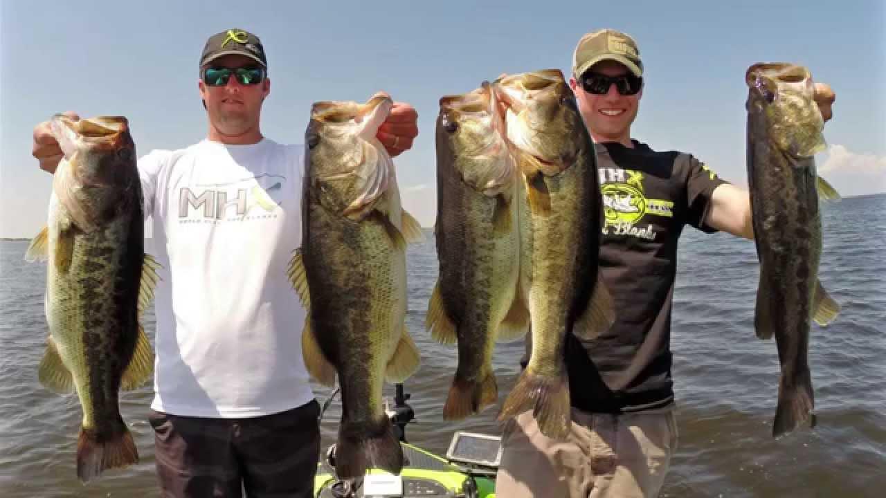 The big o bass fishing on lake okeechobee youtube for Lake okeechobee bass fishing
