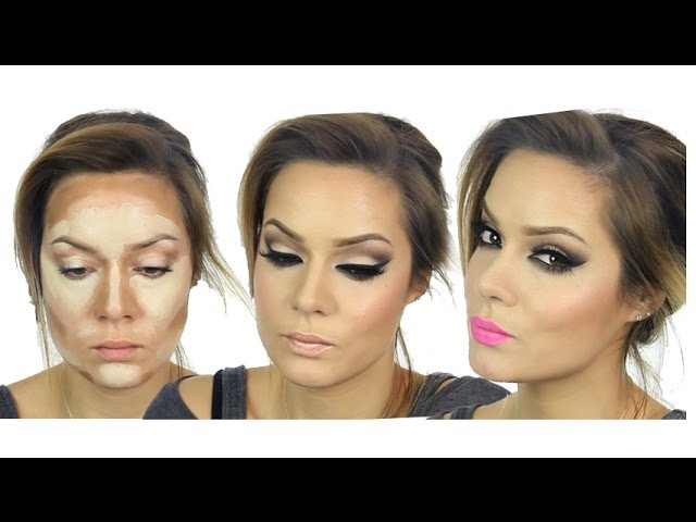 Kim Kardashian Inspired MakeUp Tutorial / Valentines Day Travel Video