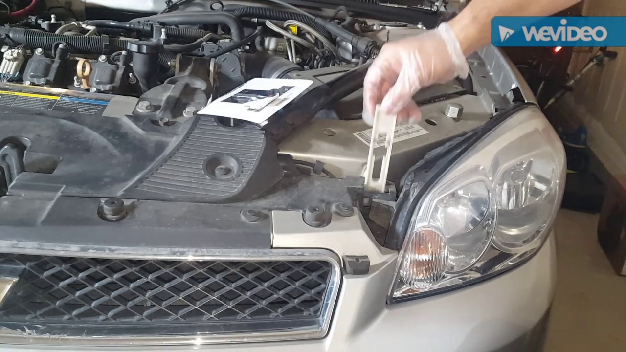 2008 Impala Headlight Replacement