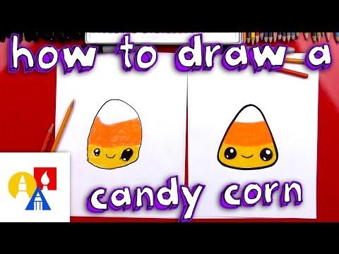 How To Draw Cartoon Candy Corn