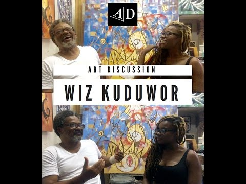 Wiz Kudowor, Art Discussion: In Conversation with Adelaide Damoah