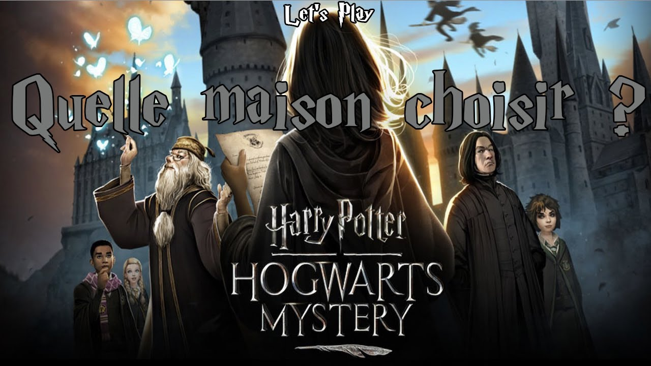 quelle maison choisir harry potter hogwarts mystery youtube. Black Bedroom Furniture Sets. Home Design Ideas