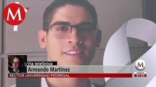 Avances y detenidos en caso Norberto Ronquillo: Armando Martínez.