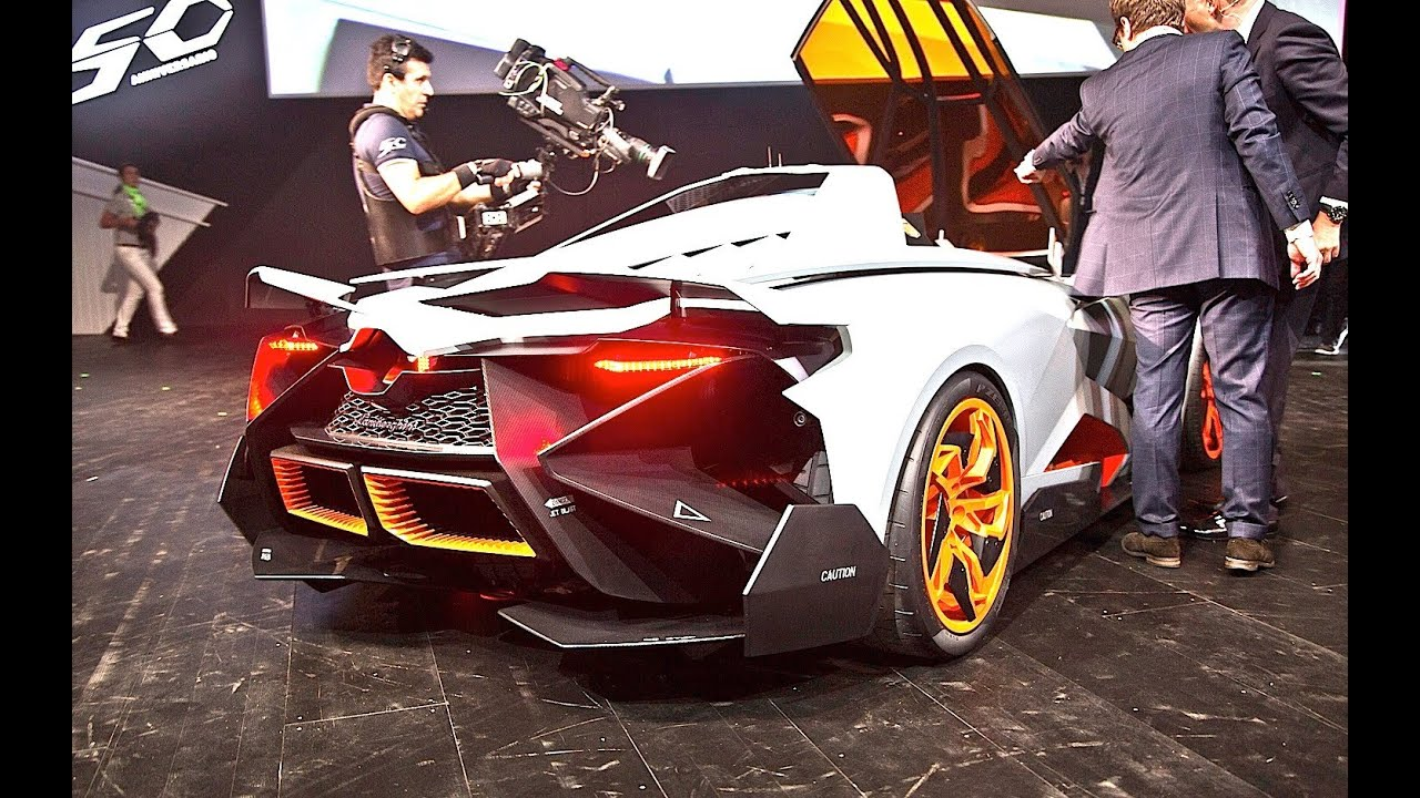 Lamborghini Egoista Sound Start Up And Revs 1 Of 1 Youtube